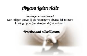 Abyasa Leden Actie